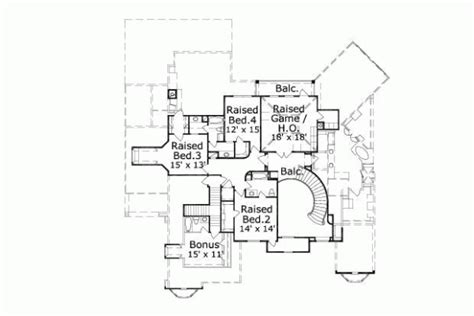 777 floor plan style house plans plan 19 777
