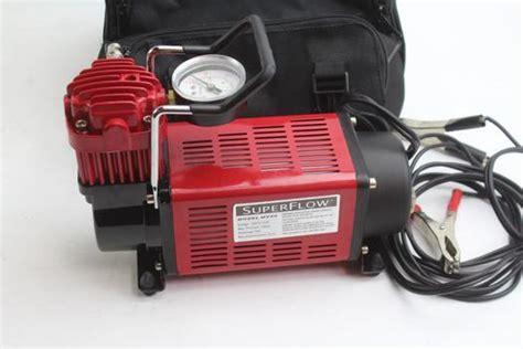 q industries mv50 superflow high volume 12 volt air compressor property room