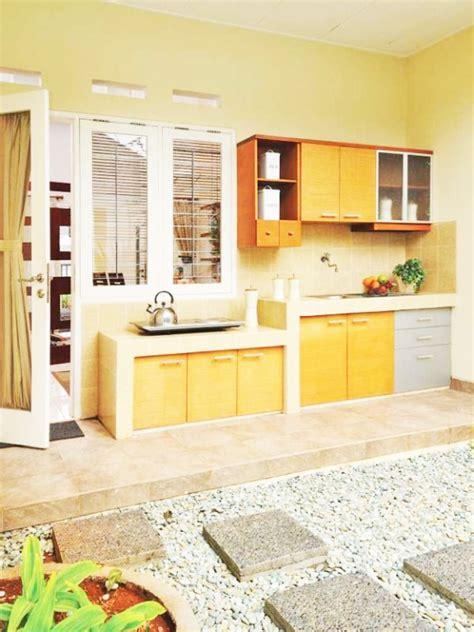 desain atap rumah terbuka siasati dapur terbuka untuk rumah minimalis dengan cara