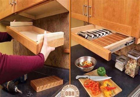 under cabinet knife storage diy under cabinet knife drawer for the house