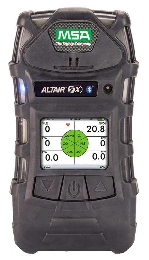Multi Gas Detector Msa msa altair 5x multigas detector lel o2 4 tox voc