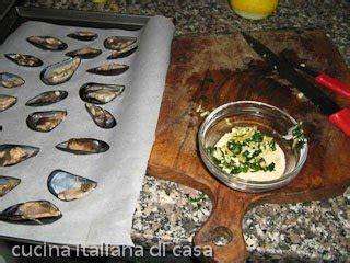 come cucinare le cozze gratinate come preparare le cozze gratinate ricetta fotografata di