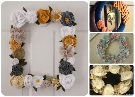 How To Make Handmade Wreaths - diy wreath ideas 2015