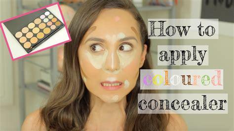 tutorial makeup concealer how to use green makeup concealer saubhaya makeup