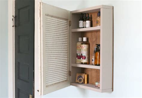 how to make a medicine cabinet how to build a medicine cabinet with pictures ehow