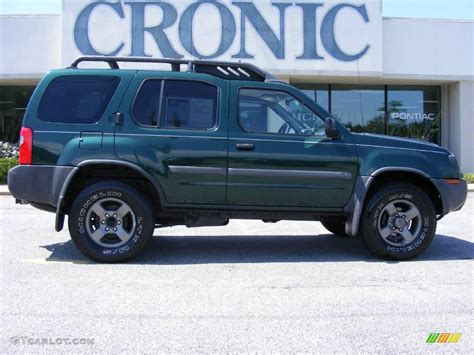 2002 alpine green metallic nissan xterra se v6 17324494 gtcarlot car color galleries