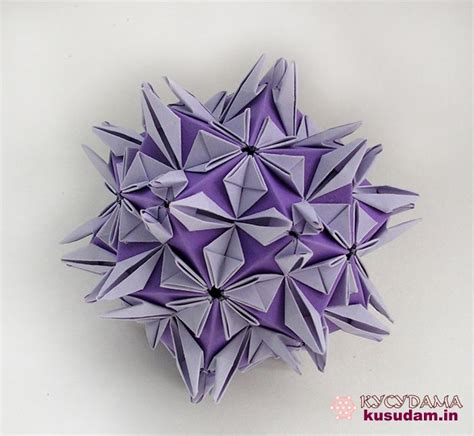 Modular Flower Origami - 182 best images about origami modular kusudama on