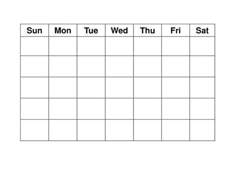 blank activity calendar template blank weekly calendars printable activity shelter