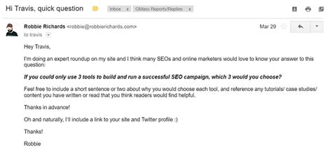 outreach email template brand ideas story style my how to get 20 109