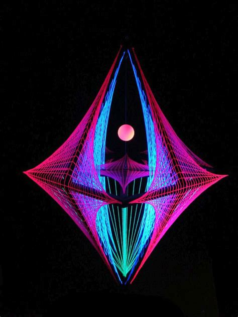 3d String Patterns - schwarzlicht de diy string 3d and