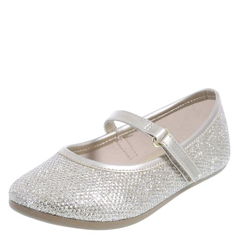toddler flat shoes smartfit shimmer toddler flat shoe payless