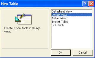 langkah membuat query pada access diwaaan blogspot com langkah langkah membuat tabel pada