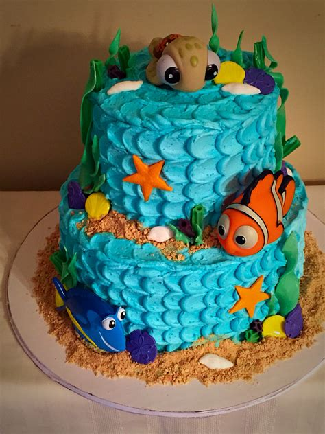 nemo cake template finding nemo cake cakes by finding