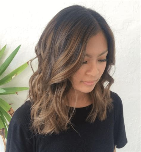 asian hairstyles brown hair brown balayage 21 inspirational looks that will make