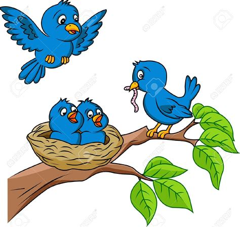 birds clipart nest clipart baby bird pencil and in color nest clipart
