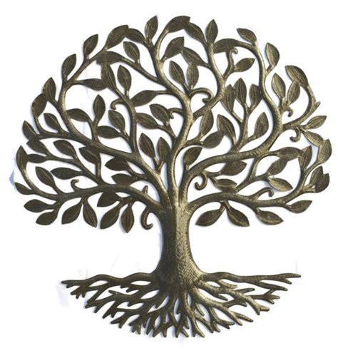 Applique Murale 2598 by živ 253 Strom života ľudov 233 Umenie Umenie Kovu Haiti Ruky