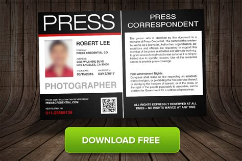 free press pass template free press pass template for beginning journalistic