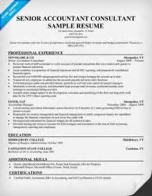resume format accounting resume sles