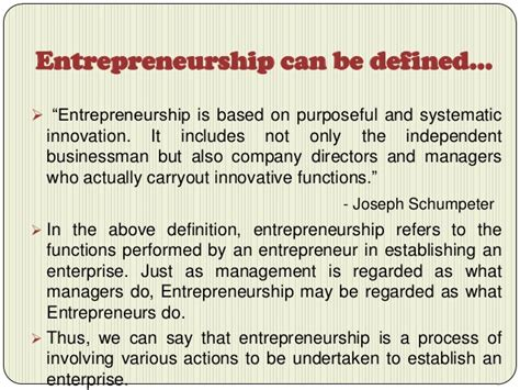 Mba Entrepreneurship Meaning by Entrepreneurship Is A Process Of Giving Birth To An
