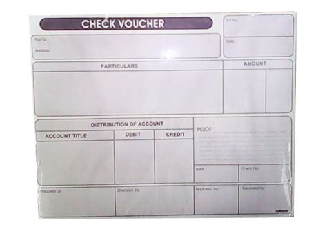 voucher check template check voucher 2ply officeworks philippines