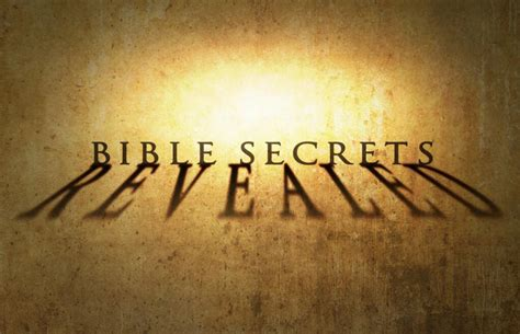 A Secret Revealed a response to the history channel s quot bible secrets