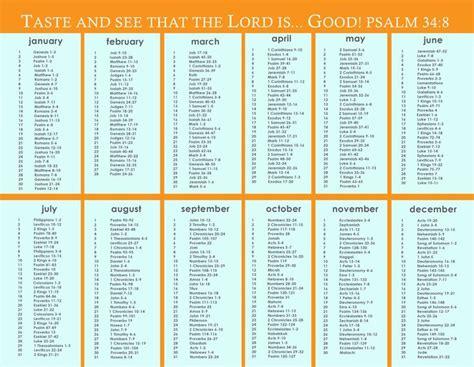 printable daily bible reading calendar daily bible reading plans printable search results