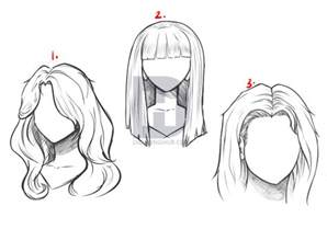 step by step hairstyles to draw how to draw long hair step by step by darkonator