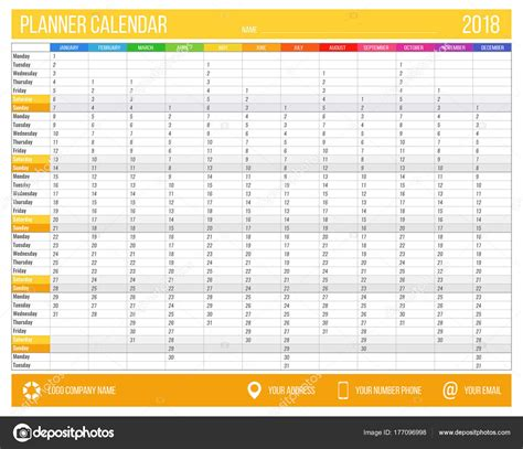 printable year planner a4 2018 a4 year planner to print 2018 cars models