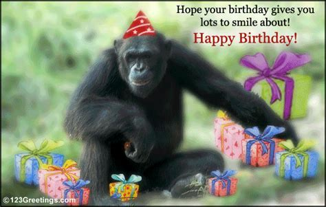 A B'day Wish To Make Him/ Her Smile! Free Smile eCards