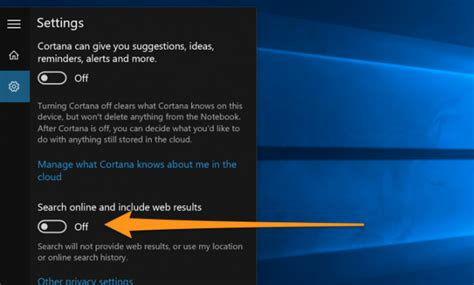 how to removedisable web search from windows 10 how to disable bing in the windows 10 start menu