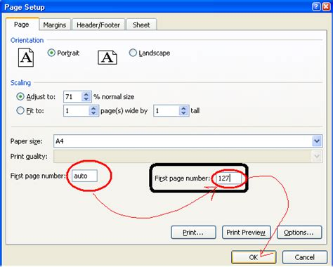cara membuat halaman di word 2007 berurutan cara membuat nomor halaman di excell kang dadang blog