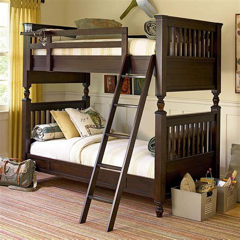Smartstuff Guys Twin Bunk Bed With Rail Post Design Bunk Bed Brands