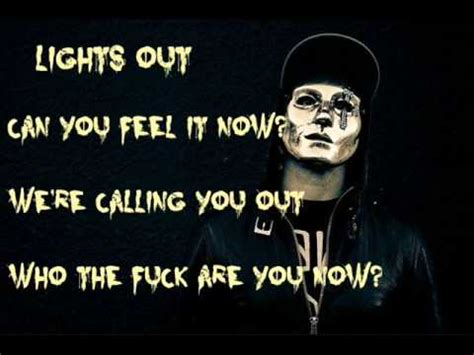 Lights Out Words by Undead Lights Out Lyrics