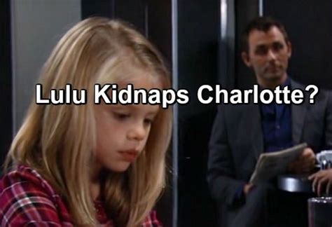general hospital cast former lulu general hospital general hospital spoilers lulu kidnaps charlotte and