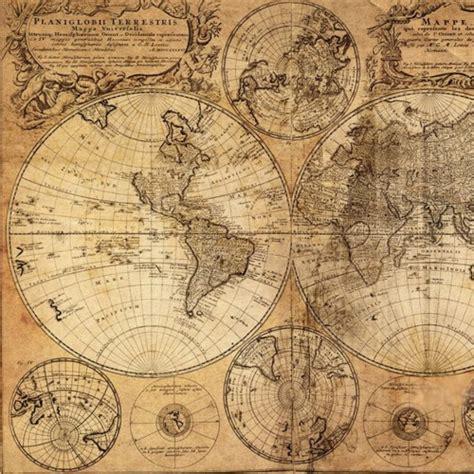 printable world map vintage vintage world map canvas print