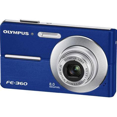 olympus fe digital olympus fe 360 digital blue 226535 b h photo