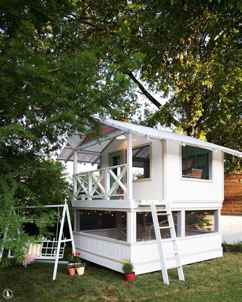Handmade Home Playhouse - best 25 backyard playhouse ideas on