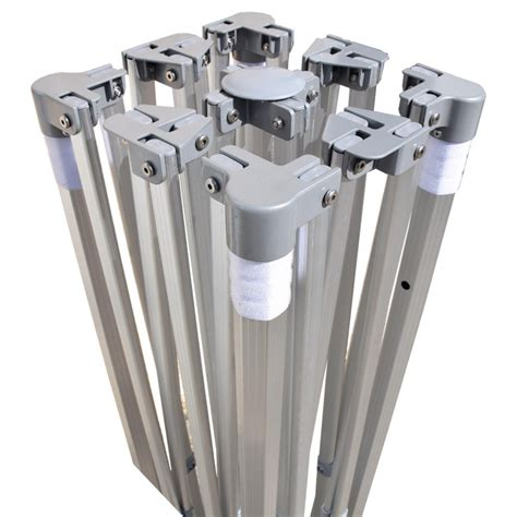 gazebo 3x4 5 gazebo pieghevole 3x4 5 alluminio exa 45mm top ecru