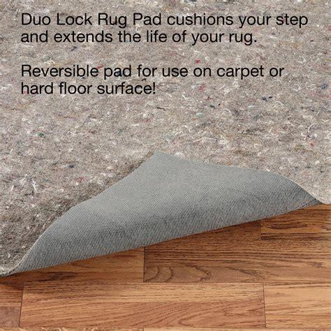 duo lock rug pad duo lock rug pad
