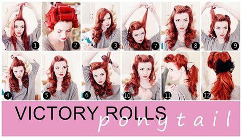 original 1940s hair tutorials uk best retro hairstyle tutorials to try now careforhair co uk