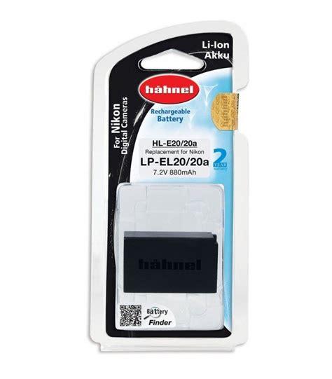 Baterai Nikon En El20 hahnel bateria hl el20 remplaza nikon en el20 duke