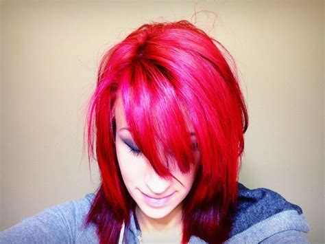 splat crimson obsession without bleach splat hair color splat hair chalk dusty rose hair ideas pinterest my hair
