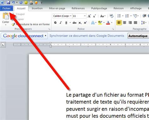 Format Pdf exporter un cv ou une lettre word au format pdf cv word