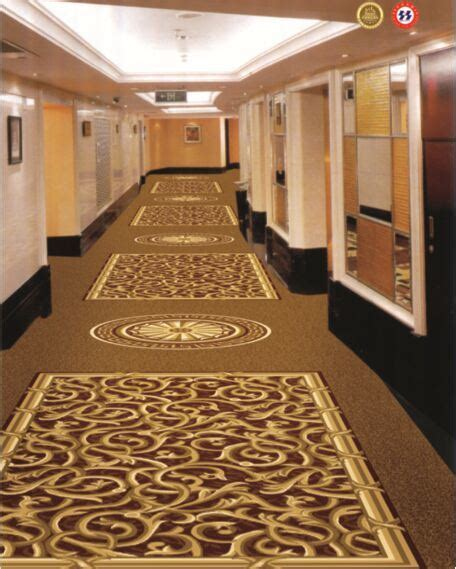 china unique design corridor carpet  hotel wycp