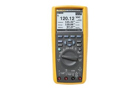 Multimeter Fluke 287 fluke 287 true rms electronics logging multimeter with trendcapture dpstar malaysia