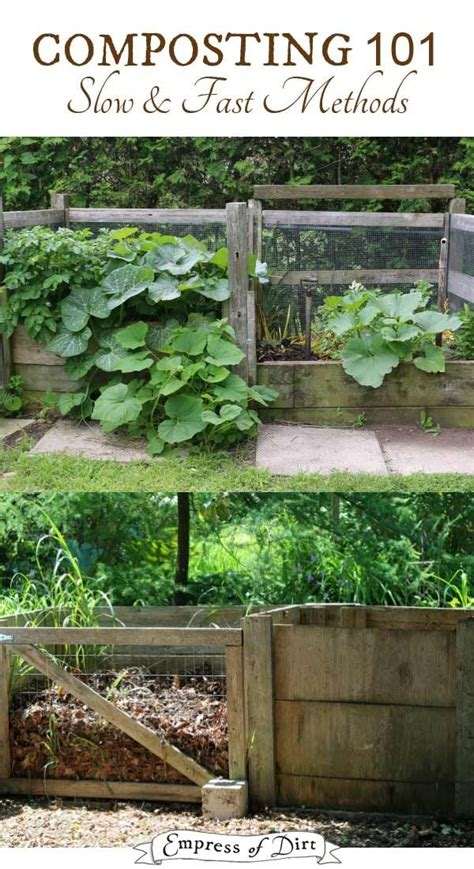 141 Best How To Compost Images On Pinterest Growing How To Make Compost For Vegetable Garden