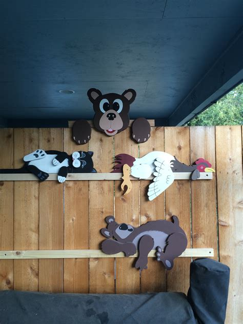 bear rail pet  projects wood crafts wood craft
