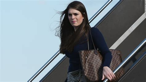 hope hicks attorney donald trump is the white house communications director