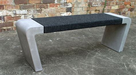 how to make a concrete bench seat concrete bench seat