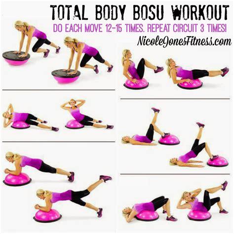 jones total bosu workout